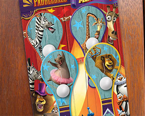 Madagascar 3 Paddle Game Packaging